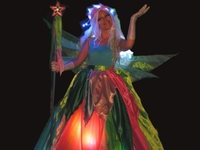 Coloured Fairy Stilt Walker