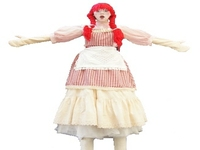 Rag Doll Stilt Walker