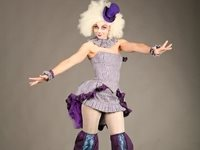 Circus Doll Stilt Walker