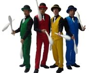 City Gent Jugglers for Christmas Events