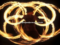 Fire Shows for Christmas Events
