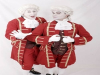 Mimes for Christmas Events