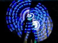 Glow & LED Performers for Christmas Events