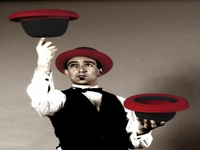 Hat Jugglers for Christmas Events