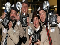 Spoof Paparazzi for Christmas Events