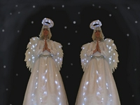 Angel Stilt Walkers