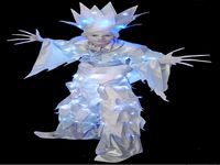 Ice Prince Stilt Walker