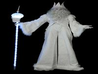 Snow King Stilt Walker